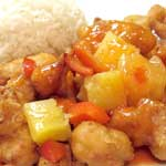 Sweet and Sour (Chicken or Shrimp recommended)